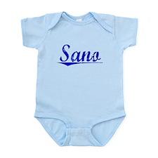 Sano, Blue, Aged Infant Bodysuit