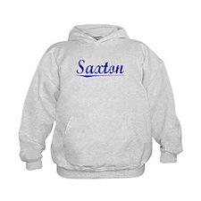 Saxton, Blue, Aged Hoodie