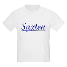 Saxton, Blue, Aged T-Shirt