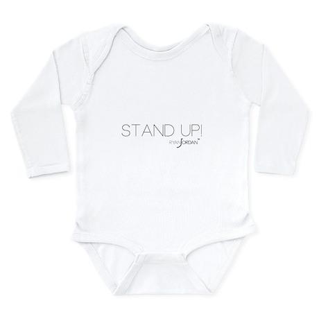 Ryan Jordan - Stand Up Long Sleeve Infant Bodysuit