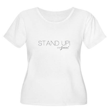 Ryan Jordan - Stand Up Women's Plus Size Scoop Nec