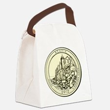 Maine Quarter 2012 Canvas Lunch Bag