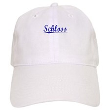 Schloss, Blue, Aged Baseball Cap