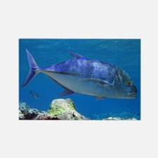 Bluefin Trevally Rectangle Magnet