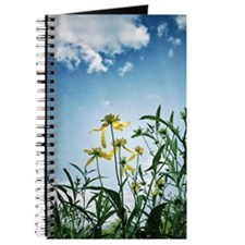Wildflowers and Blue Sky Journal Journal