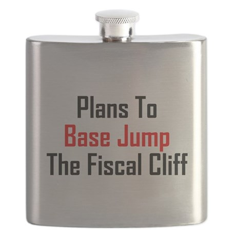 Plans To Base Jump The Fiscal Cliff Flask