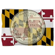 Maryland Quarter 2000 Pillow Sham