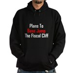 Plans To Base Jump The Fiscal Cliff Hoodie (dark)