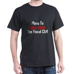 Plans To Base Jump The Fiscal Cliff Dark T-Shirt