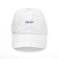 Schuyler, Blue, Aged Cap