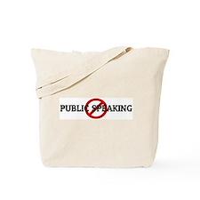 Anti PUBLIC SPEAKING Tote Bag