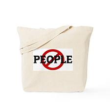 Anti PEOPLE Tote Bag