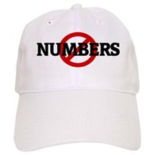 Anti NUMBERS Baseball Cap