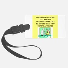 icu doctor joke gift apparel Luggage Tag