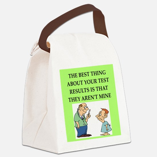DOCTOR.png Canvas Lunch Bag