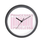 Princesses Priceless Wall Clock