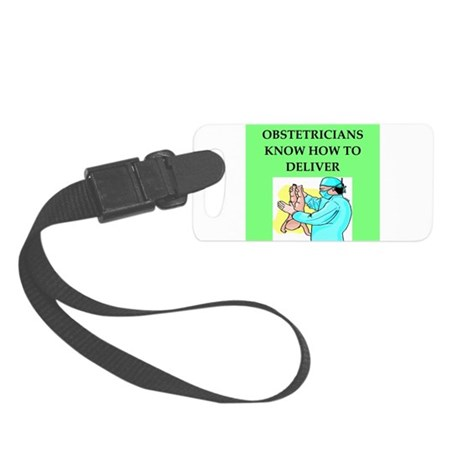 OBSTETRICIAN.png Small Luggage Tag