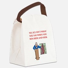 NO16.png Canvas Lunch Bag