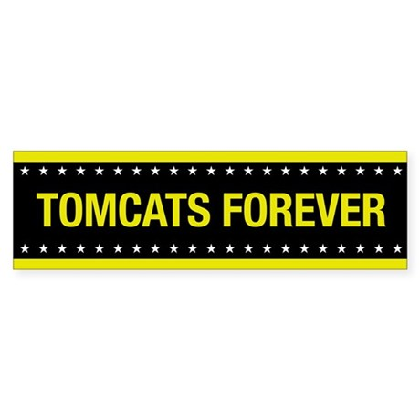 Tomcats Forever Bumper Sticker
