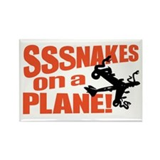 SoaP Snakes ON a Plane Stuff Rectangle Magnet