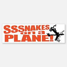 SoaP Snakes ON a Plane Stuff Bumper Bumper Bumper Sticker