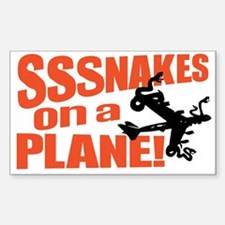SoaP Snakes ON a Plane Stuff Rectangle Decal