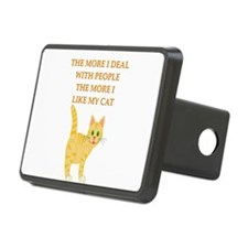 girl geek cat lover gifts t-shirts Hitch Cover