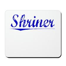 Shriner, Blue, Aged Mousepad