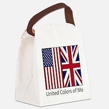 usukme.jpg Canvas Lunch Bag