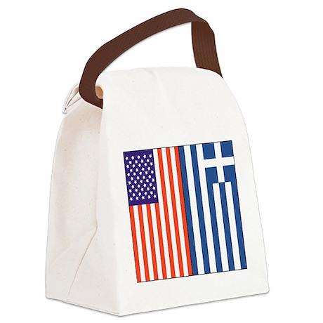 usgreece.png Canvas Lunch Bag