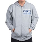 Blue Mountains Zip Hoodie