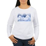 Blue Mountains Women's Long Sleeve T-Shirt