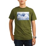 Blue Mountains Organic Men's T-Shirt (dark)