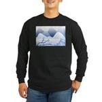 Blue Mountains Long Sleeve Dark T-Shirt