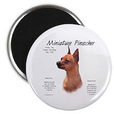 Red Miniature Pinscher Magnet