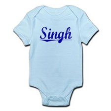 Singh, Blue, Aged Infant Bodysuit