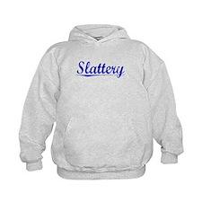 Slattery, Blue, Aged Hoody