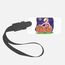OES Halloween Pumpkin Patch Luggage Tag