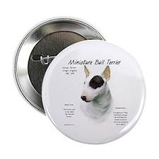 Miniature Bull Terrier Button