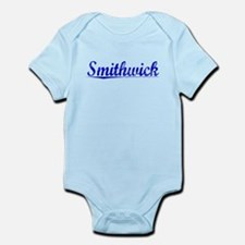 Smithwick, Blue, Aged Infant Bodysuit