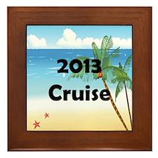 Cruise 2013 Framed Tile