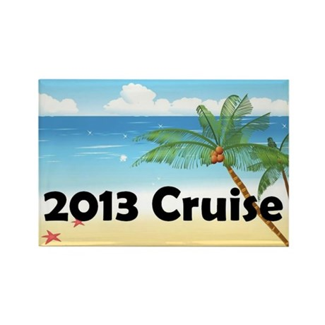 Cruise 2013 Rectangle Magnet