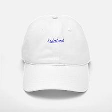 Soderlund, Blue, Aged Baseball Baseball Cap