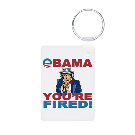 obama your fired.png Aluminum Photo Keychain