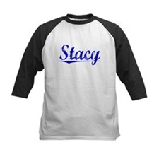 Stacy, Blue, Aged Tee