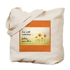 Live With Intention Tote Bag