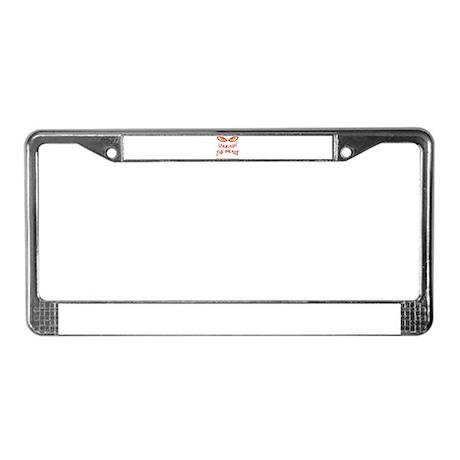 Unleash License Plate Frame