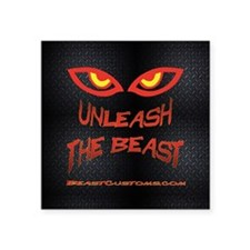 "Unleash Square Sticker 3"" x 3"""