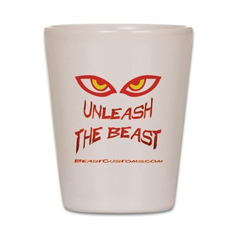 Unleash Shot Glass