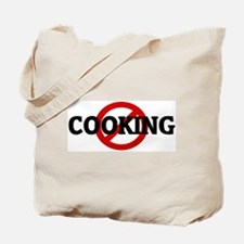 Anti COOKING Tote Bag